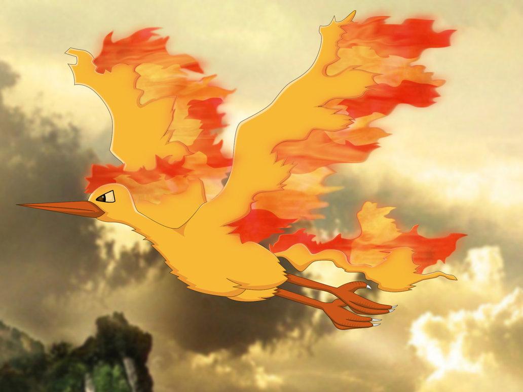Oiseaux pokemon pokemon obtenez les trois oiseaux l 233 - Sulfura pokemon rouge ...