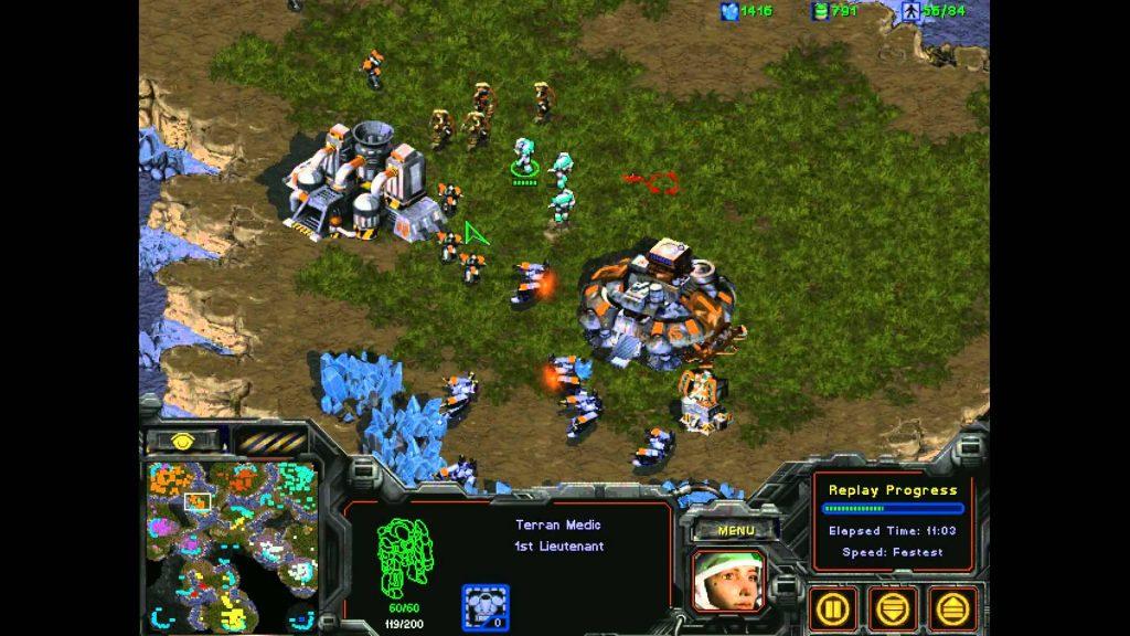 starcraft gratuit : image du jeu