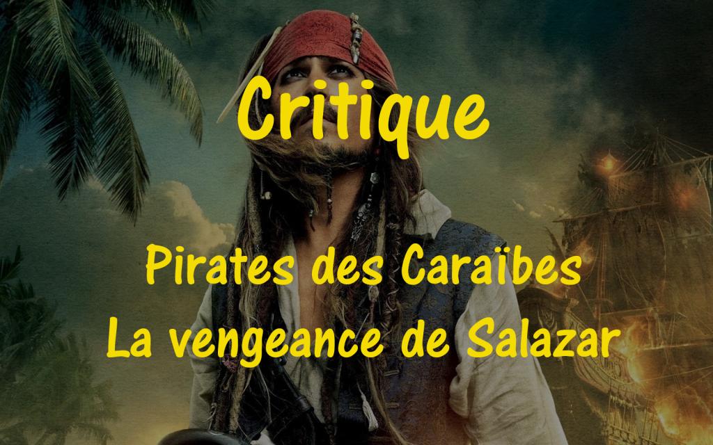 Critique pirates des caraïbes