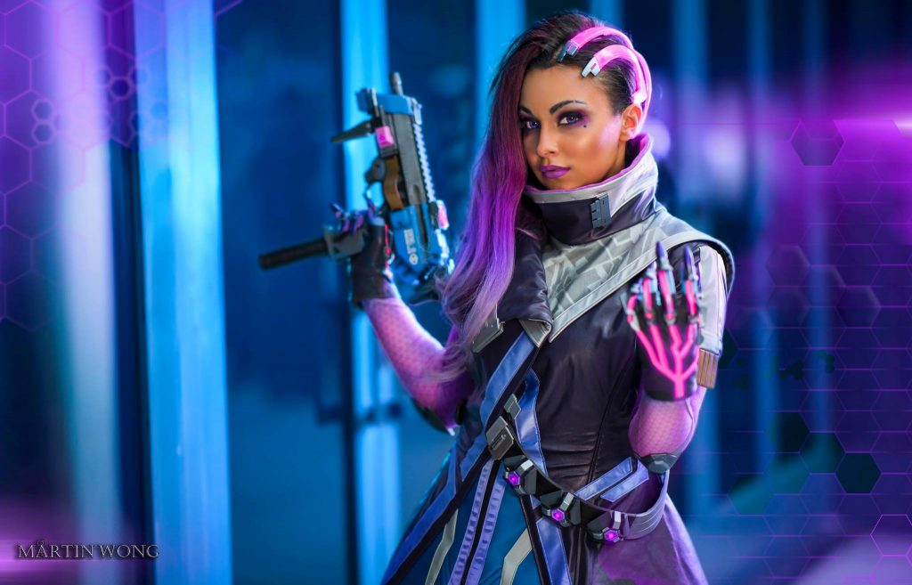 cosplay overwatch sombra