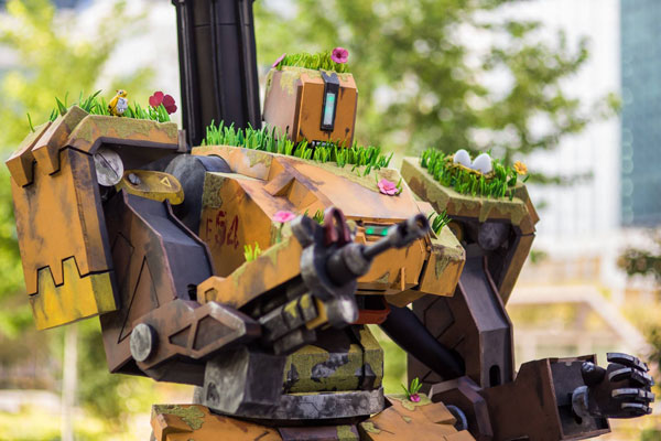 cosplay overwatch bastion