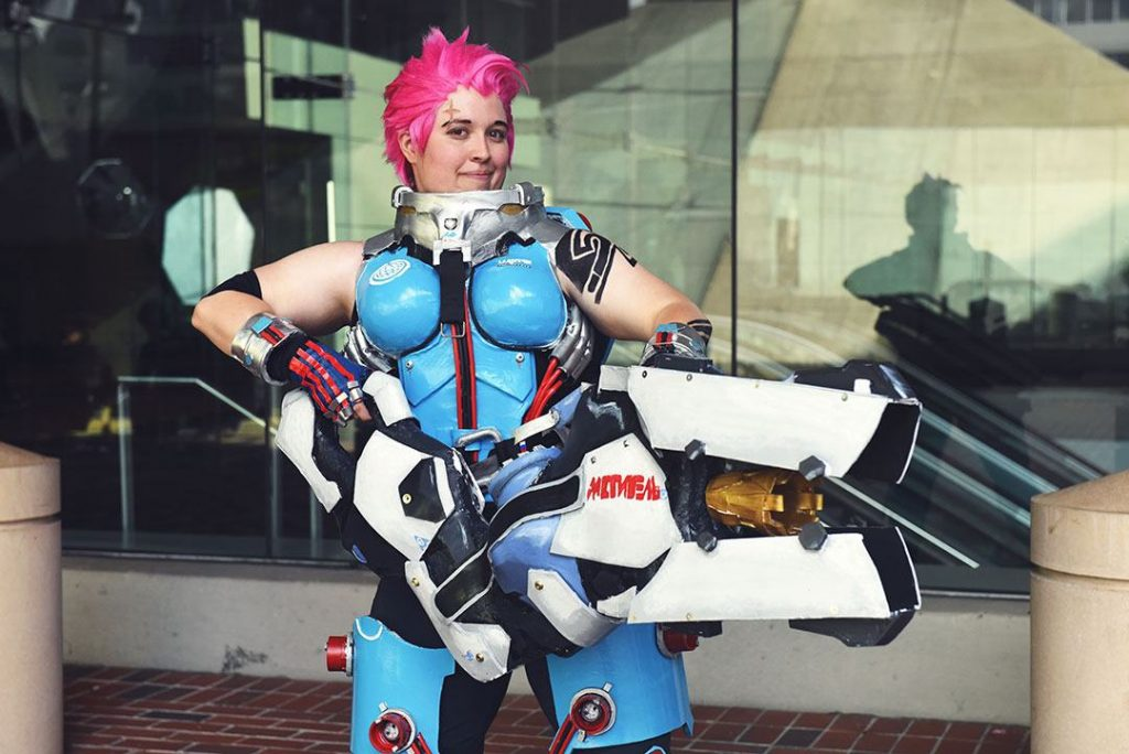 cosplay overwatch zarya