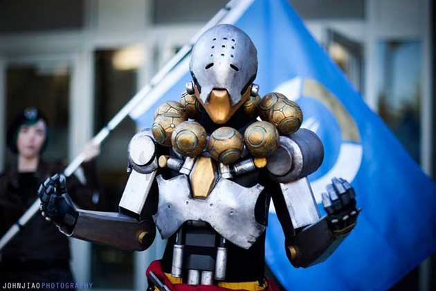 Cosplay overwatch zenyatta