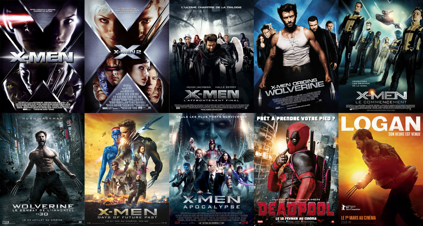 X Men Filme Chronologisch
