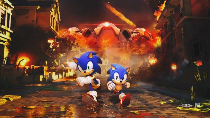 test sonic forces