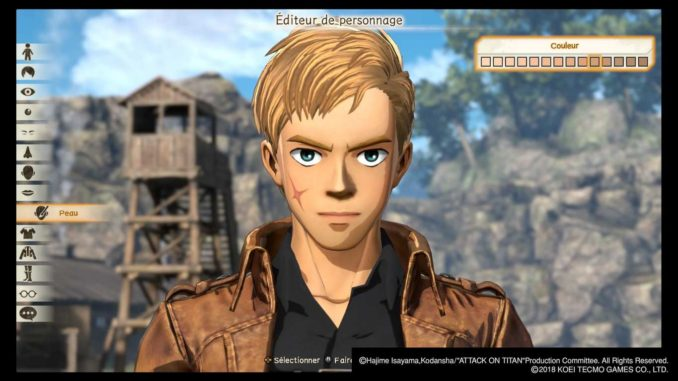 test attack on titan 2