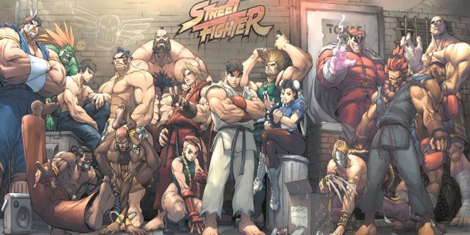 Critique Comics Street Fighter II