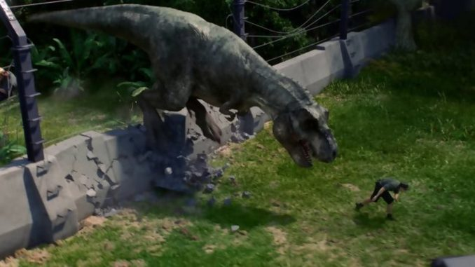 test jurassic world evolution