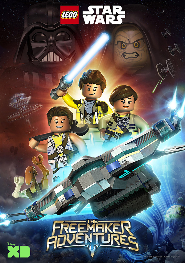 Lego Star Wars The Freemakers Adventures