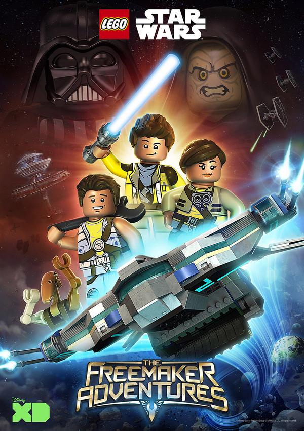 Lego Star Wars The Freemakers Adventures
