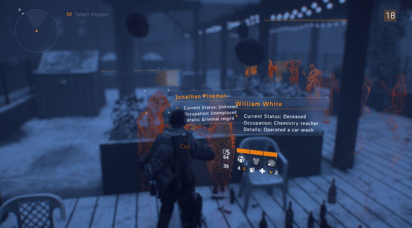 easter eggs The Division