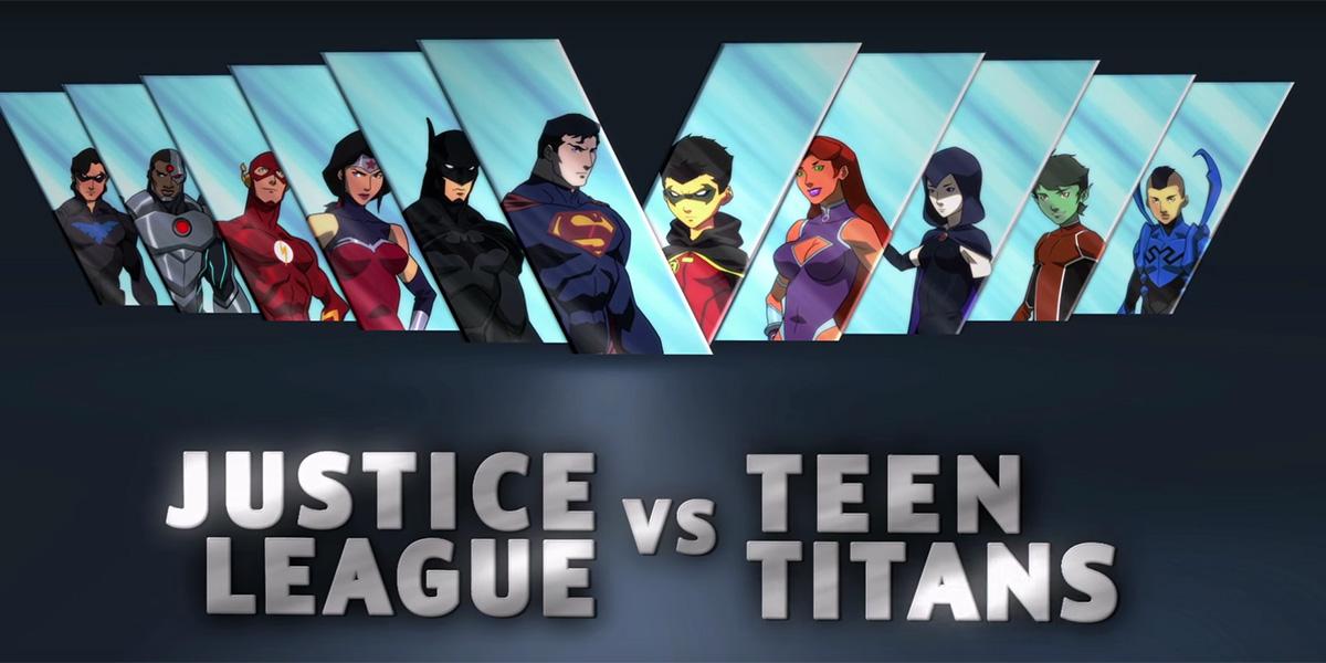 Critique Justice League Vs Teen Titans