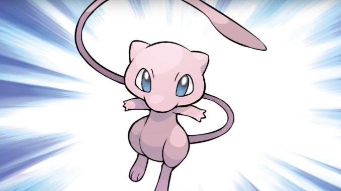 Mew dans Pokemon Go