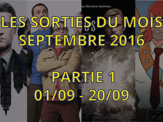 sorties séries tv de septembre 2016