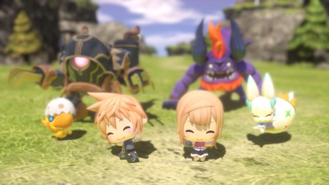 Démo de World of Final Fantasy