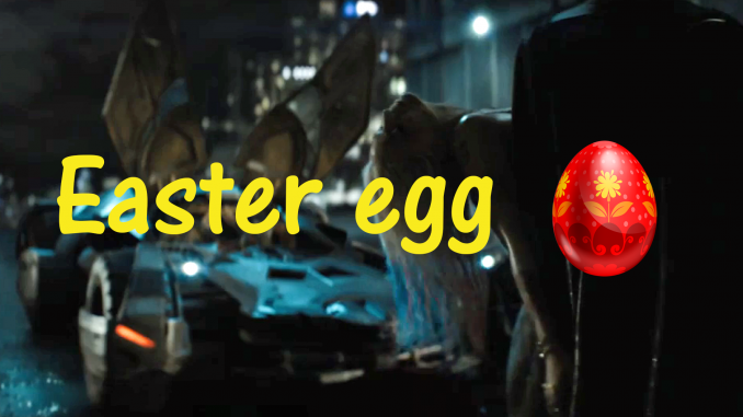 easter egg Batman
