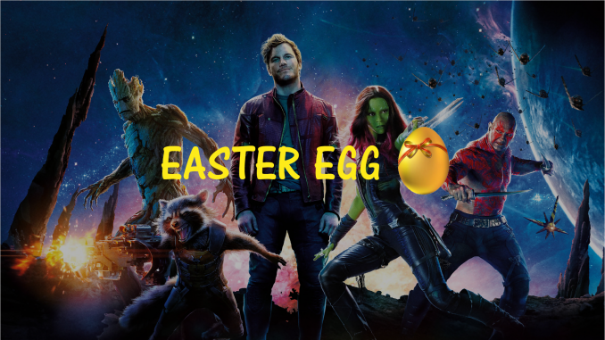 Easter Egg des Gardiens de la Galaxie
