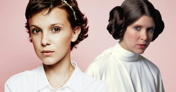 Millie Bobby Brown en Leia