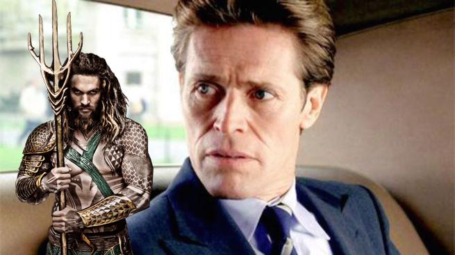 Willem Dafoe dans Aquaman