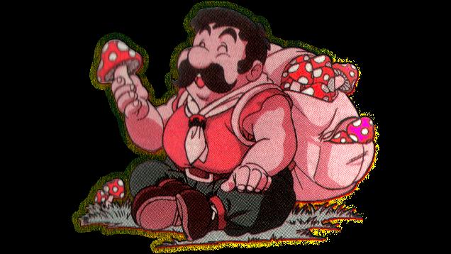 Easter eggs Mario