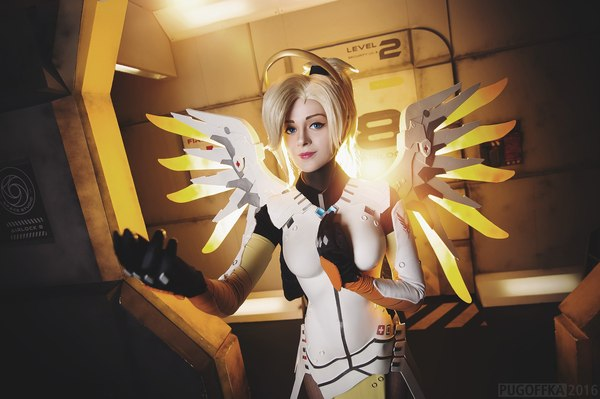 cosplay overwatch ange