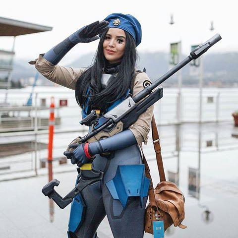 cosplay overwatch ana