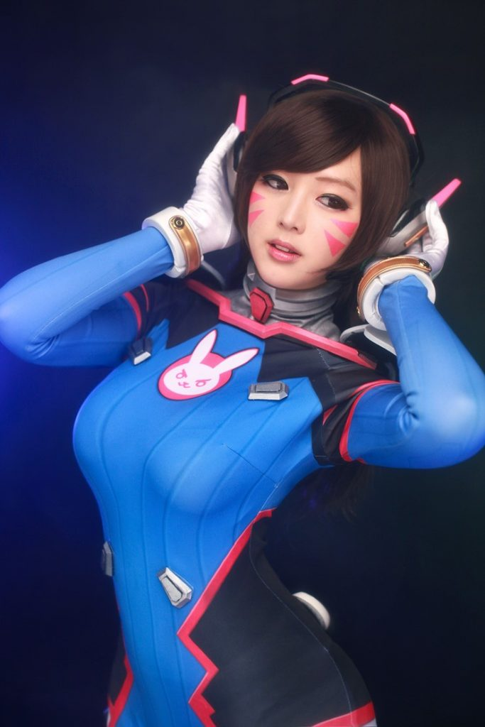 cosplay overwatch d.va