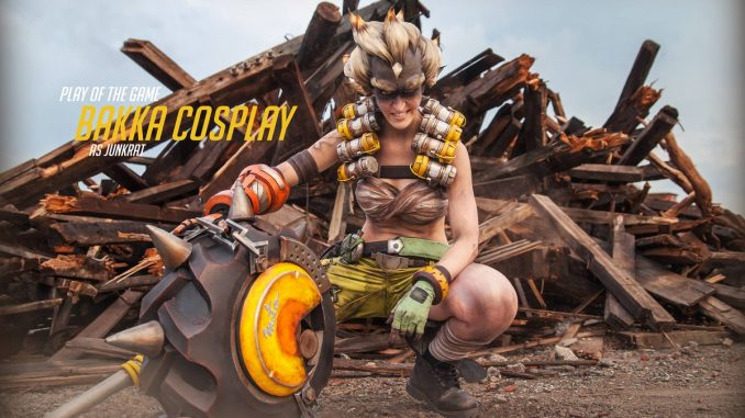 cosplay overwatch chacal