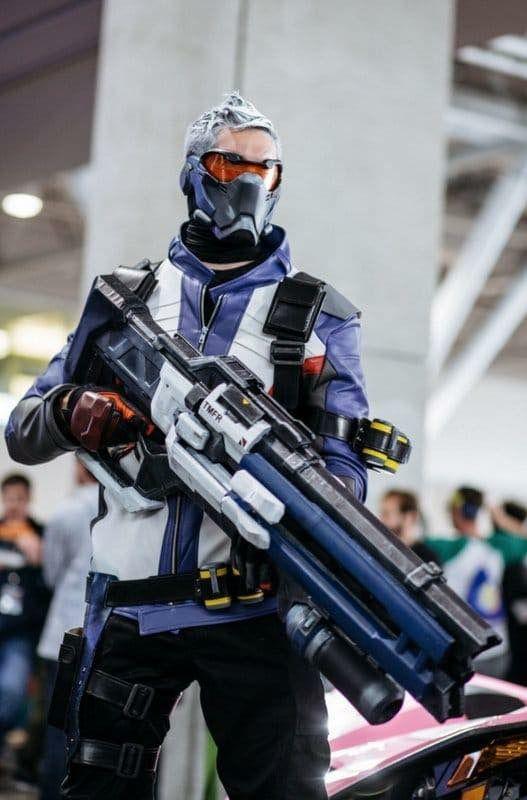 cosplay overwatch soldat 76