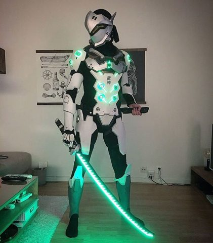 cosplay overwatch genji