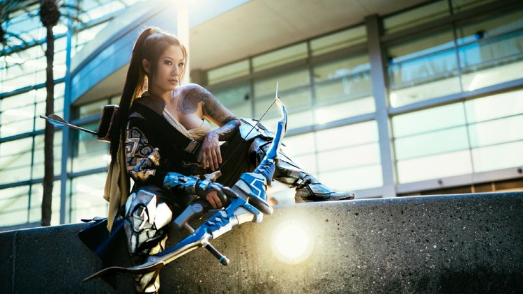 hanzo overwatch cosplay