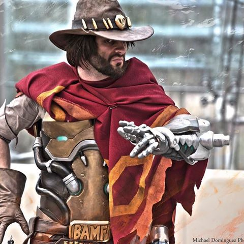 Cosplay overwatch McCree