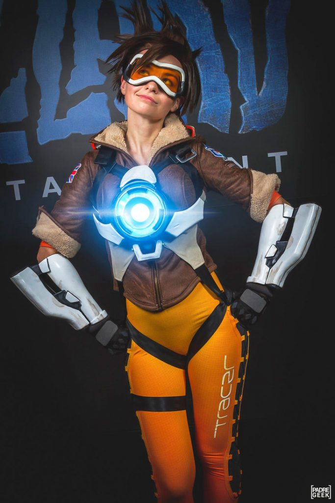 cosplay overwatch tracer