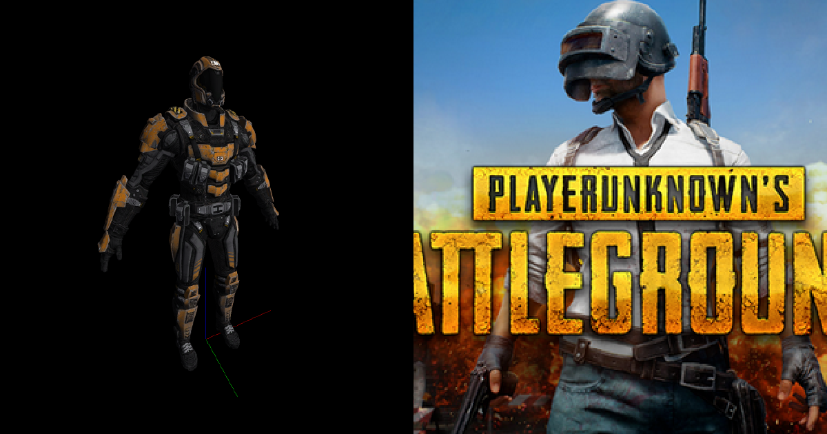 Objets de Playerunknown's battlegrounds