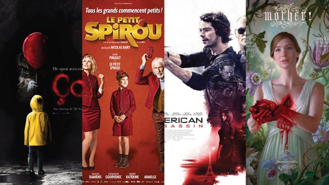 Sorties cinéma de septembre 2017