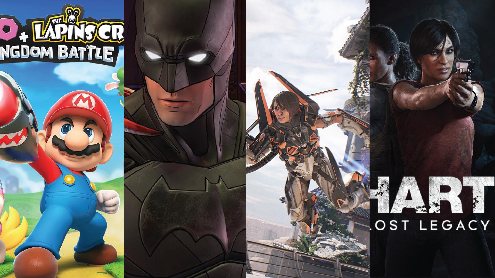 Sorties jeux video d'août 2017