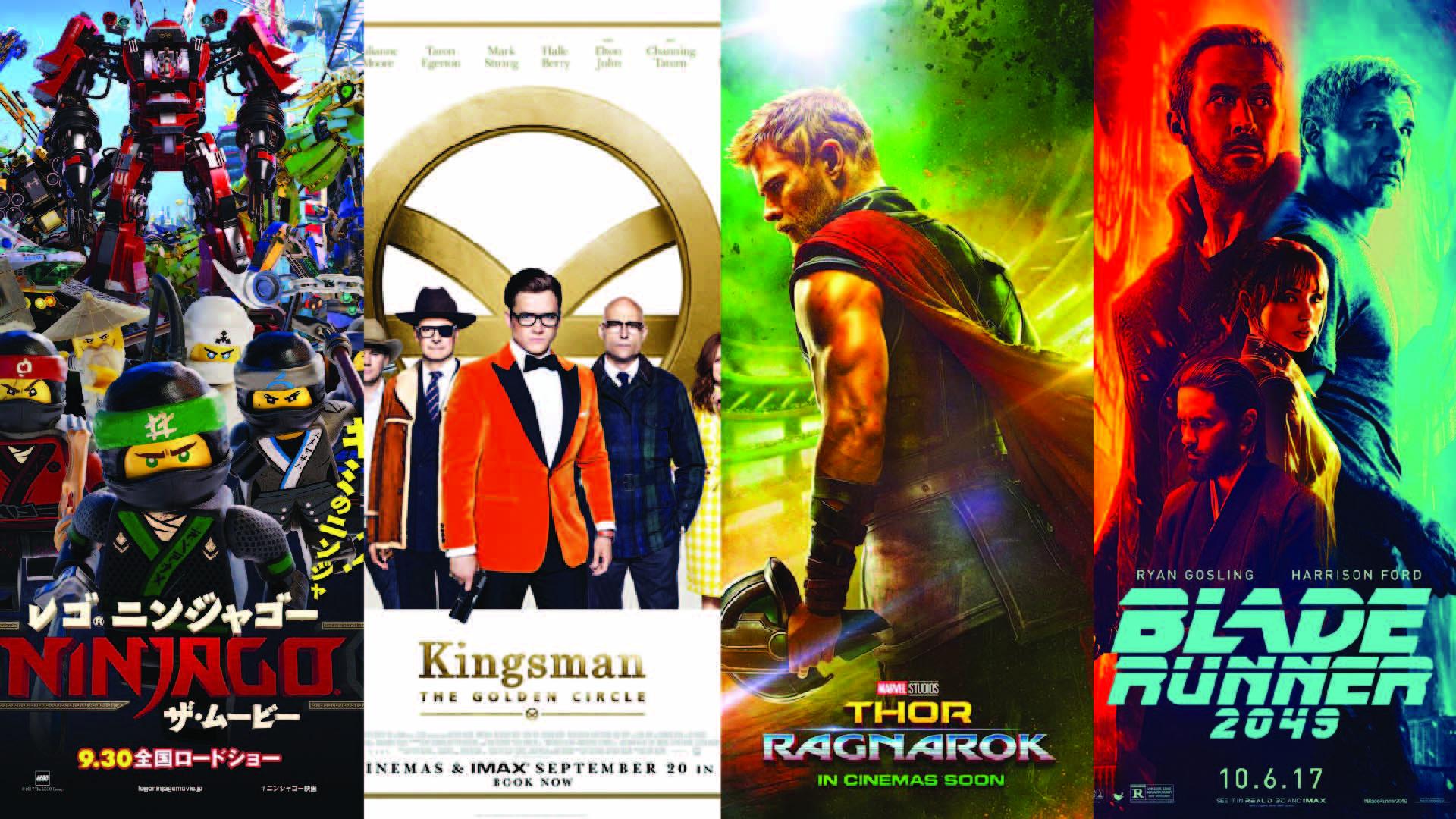 Sorties cinéma d'octobre 2017