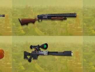 Les meilleures armes Fortnite