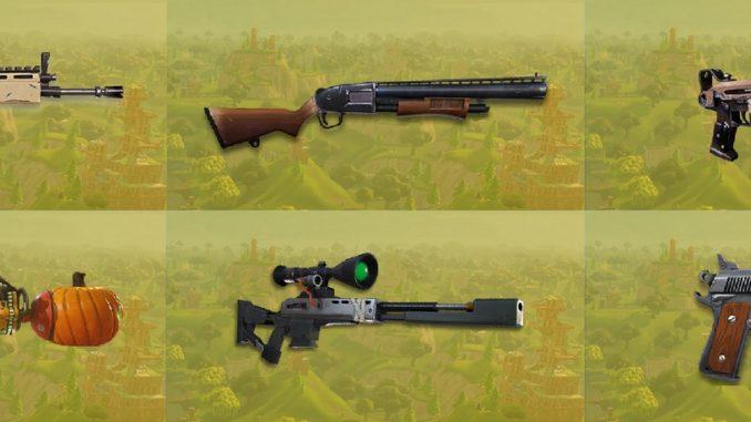 meilleures armes de Fortnite