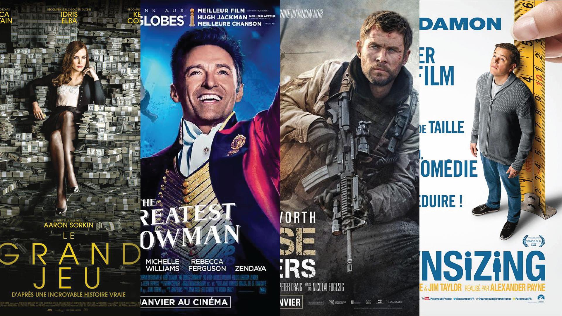 Sorties cinéma de janvier 2018