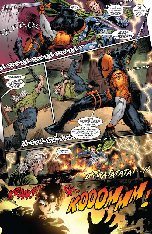Critique Deathstroke rebirth