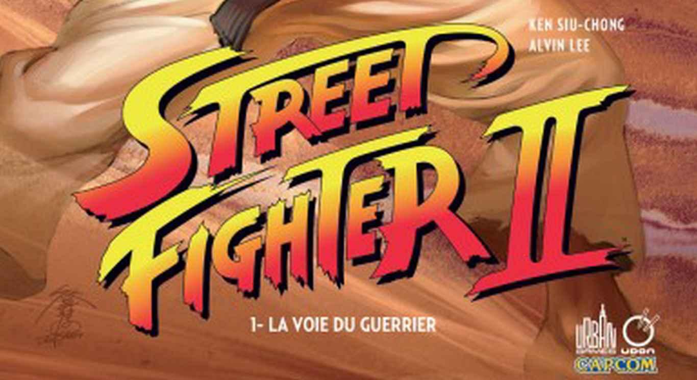 Comics Street Fighter II
