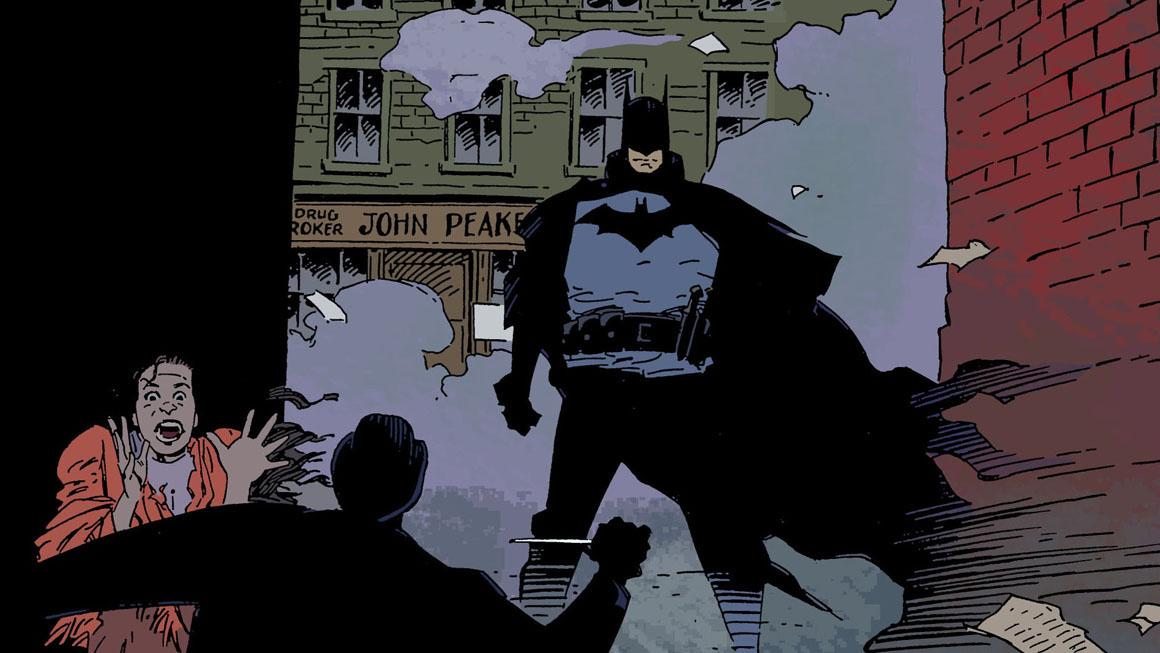 Batman : Gotham By Gaslight, Le Chevalier Noir dans les ruelles sombres de Gotham