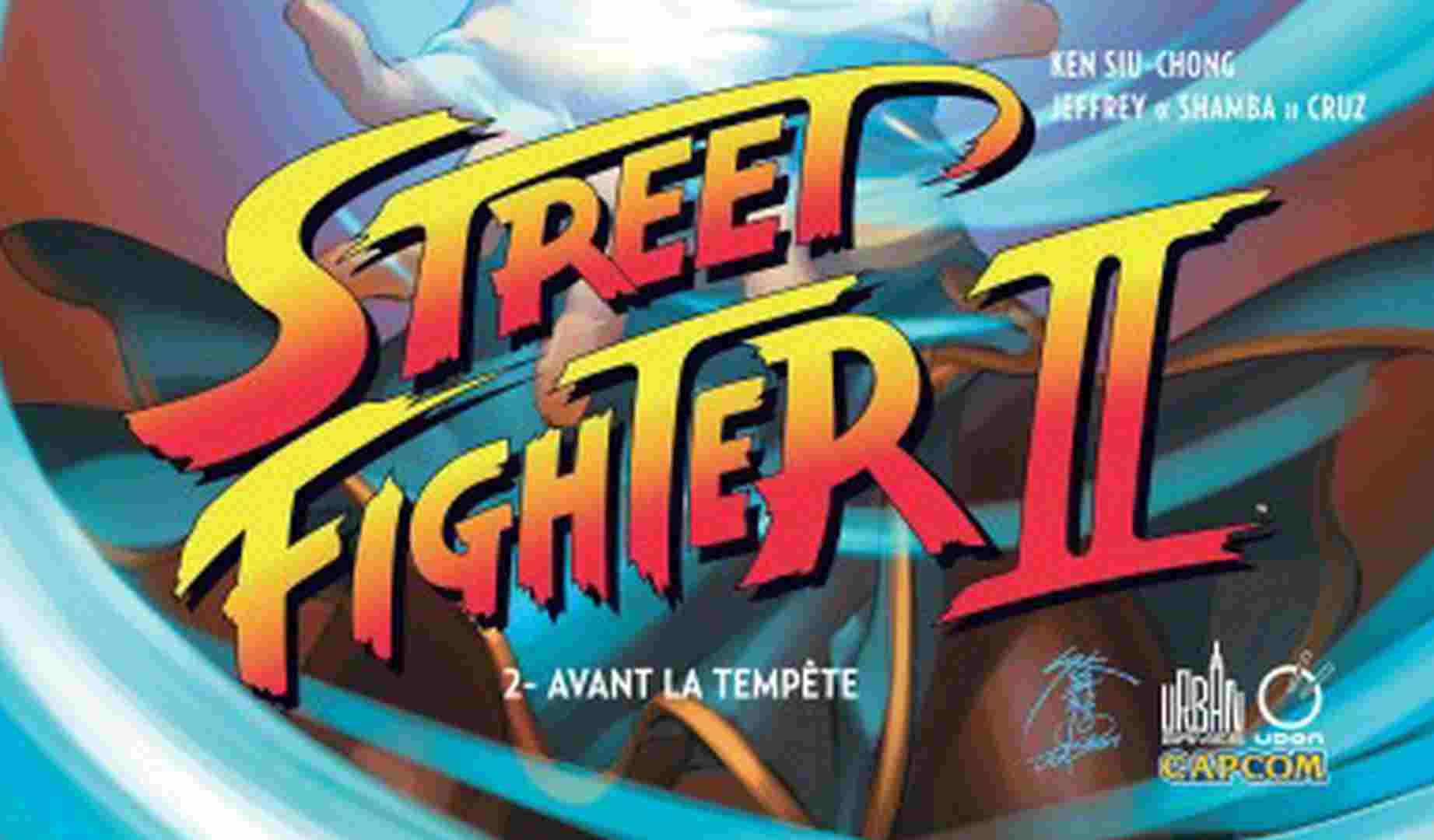 Comics Street Fighter II Tome 2