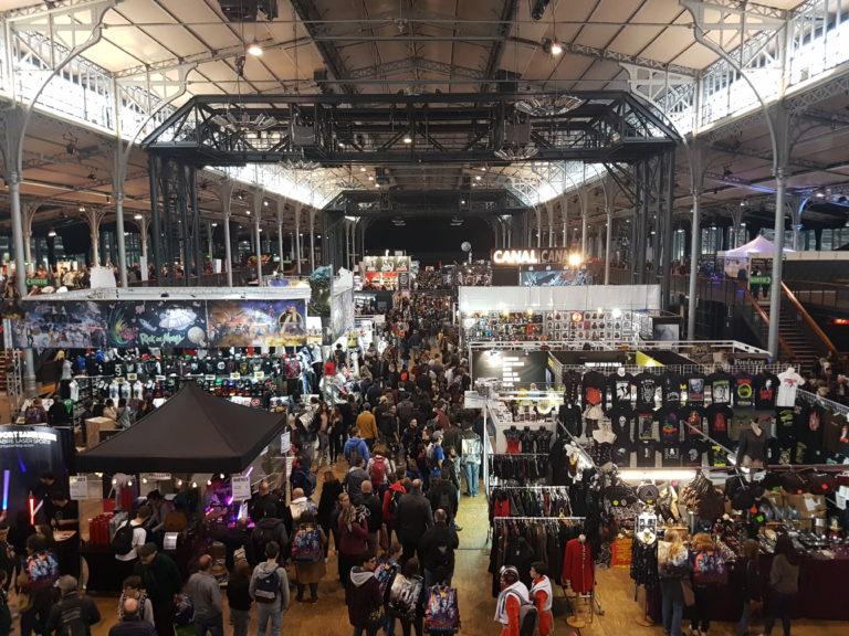 Intérieur Comic Con Paris 2018