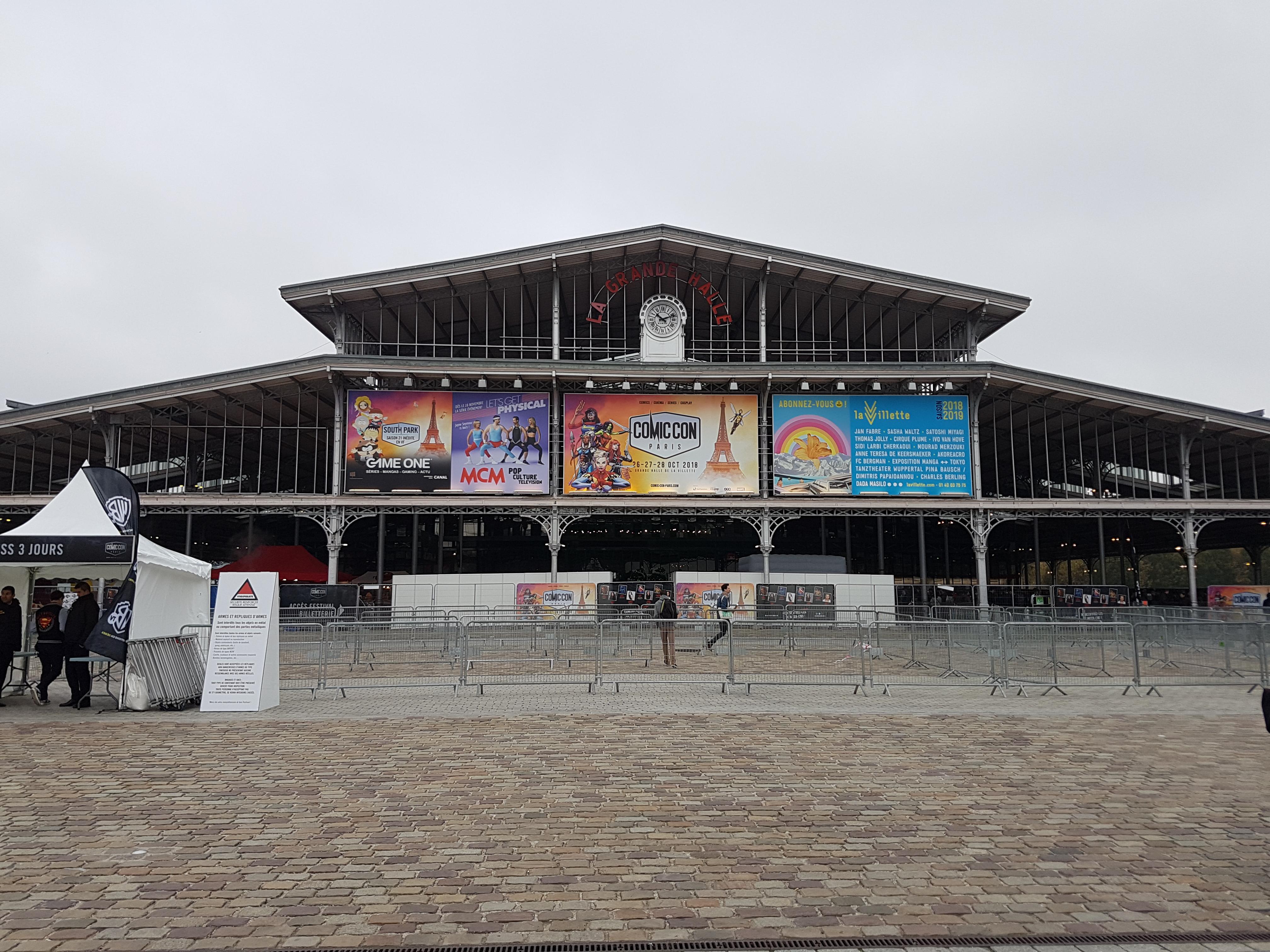 Comic Con Paris 2018 Ouverture
