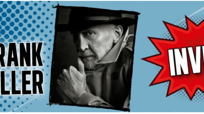 Frank Miller Comic Con Paris 2018