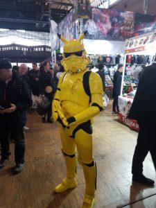 Cosplay Pikachu Stormtrooper