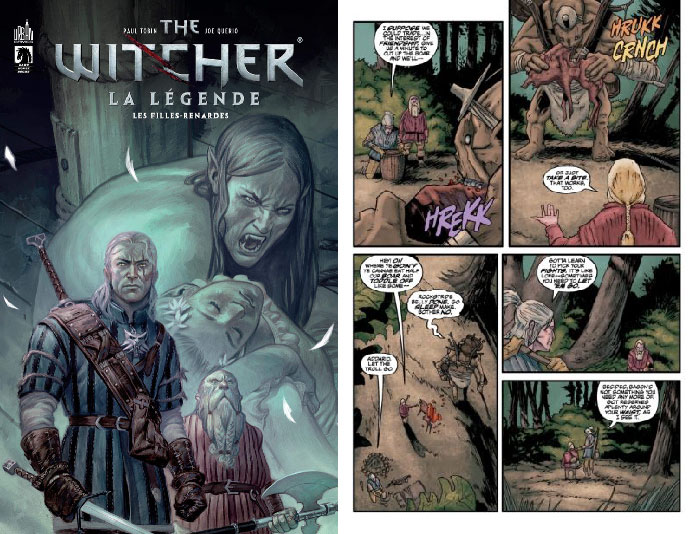 Comics the witcher
