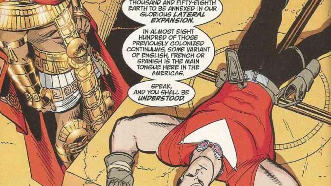 comics tom strong